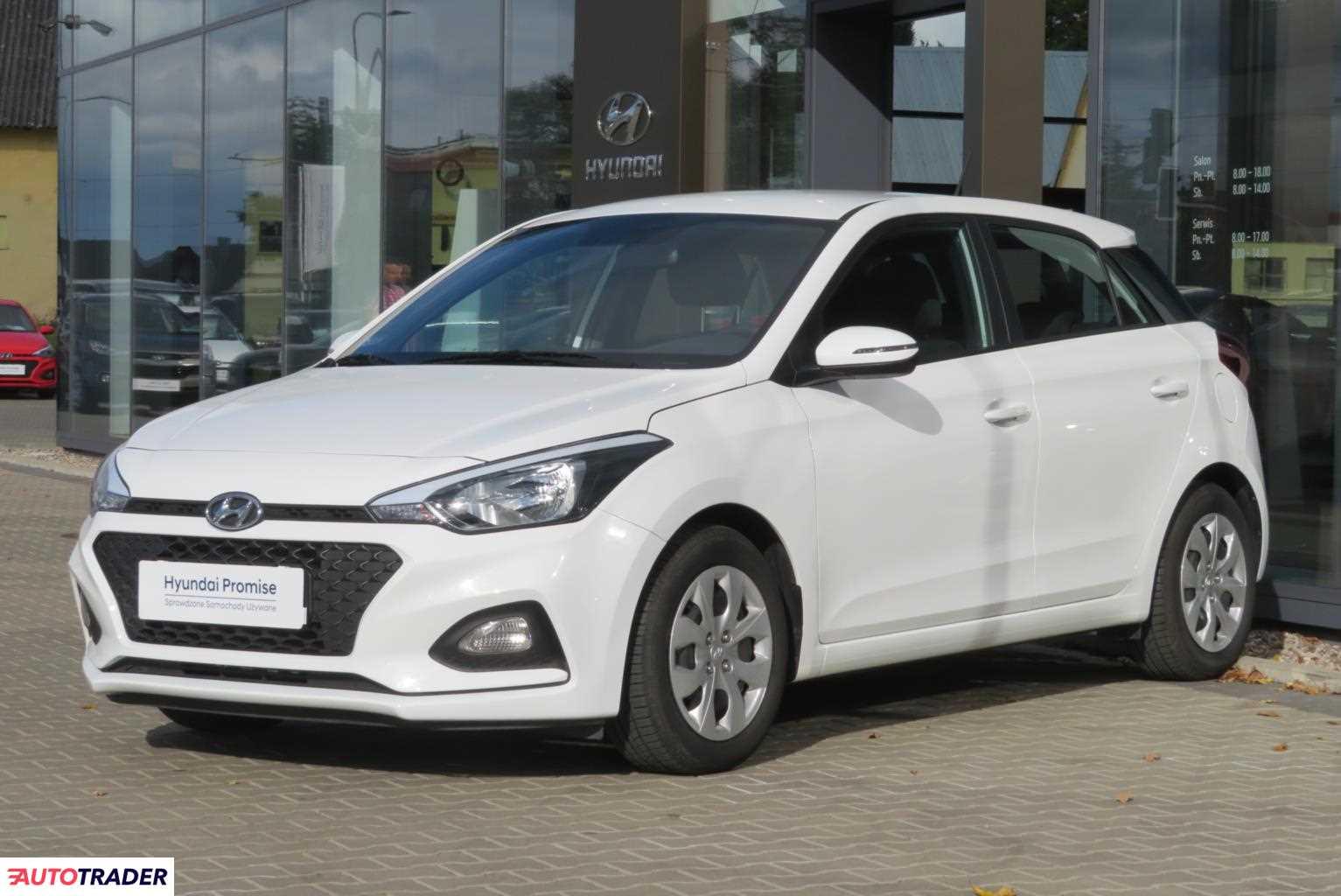 Hyundai i20 2019 1.2 84 KM