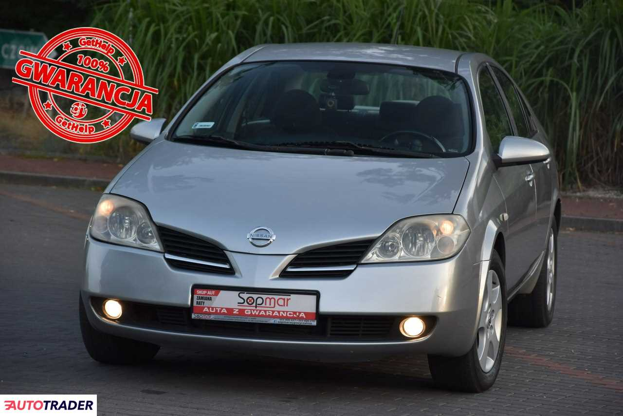 Nissan Primera 2004 1.9 120 KM
