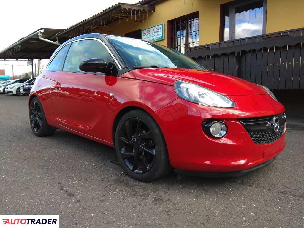 Opel Adam 2013 1.2 70 KM