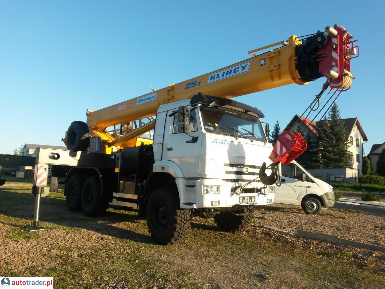 Dźwig 25t 12 - 50 ton