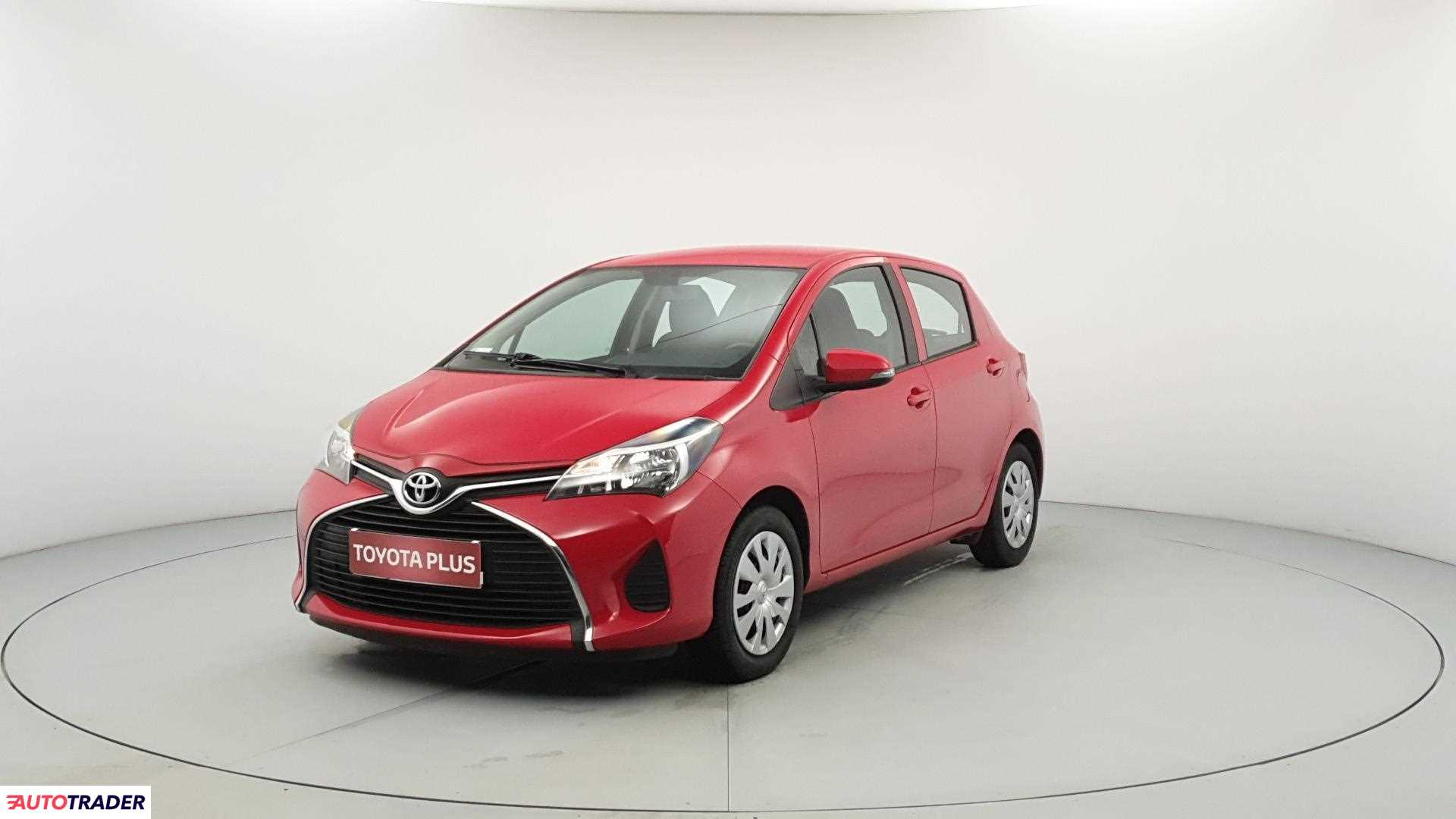 Toyota Yaris 2015 1.0 69 KM
