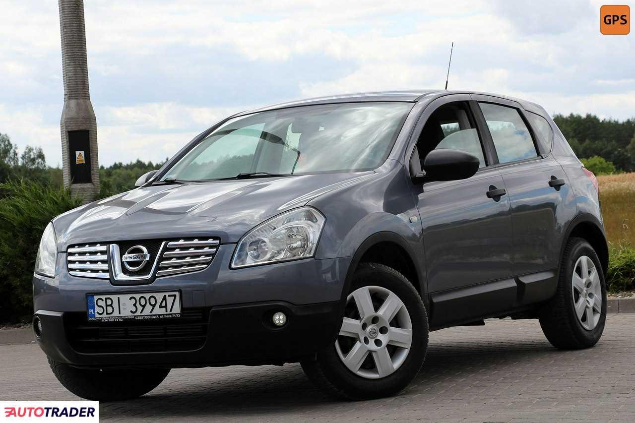 Nissan Qashqai 2008 1.5 106 KM
