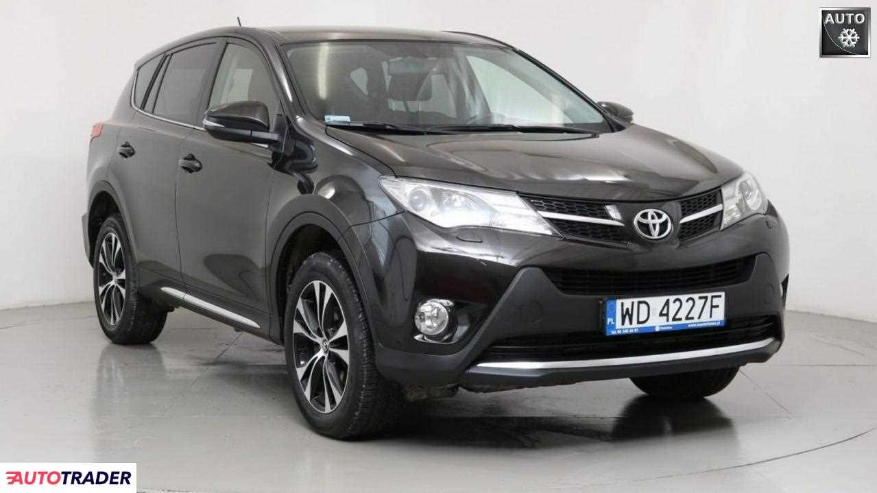 Toyota RAV 4 2014 2 124 KM