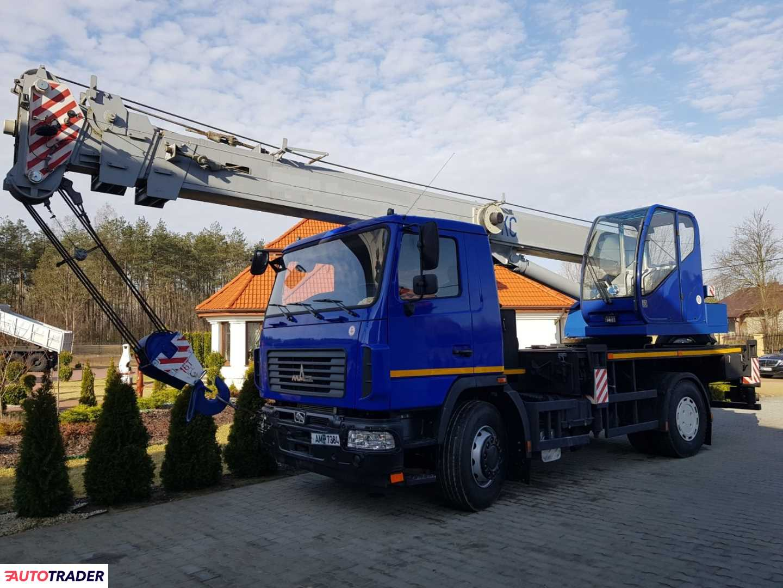 MAZ 16 ton Polska 2018r.