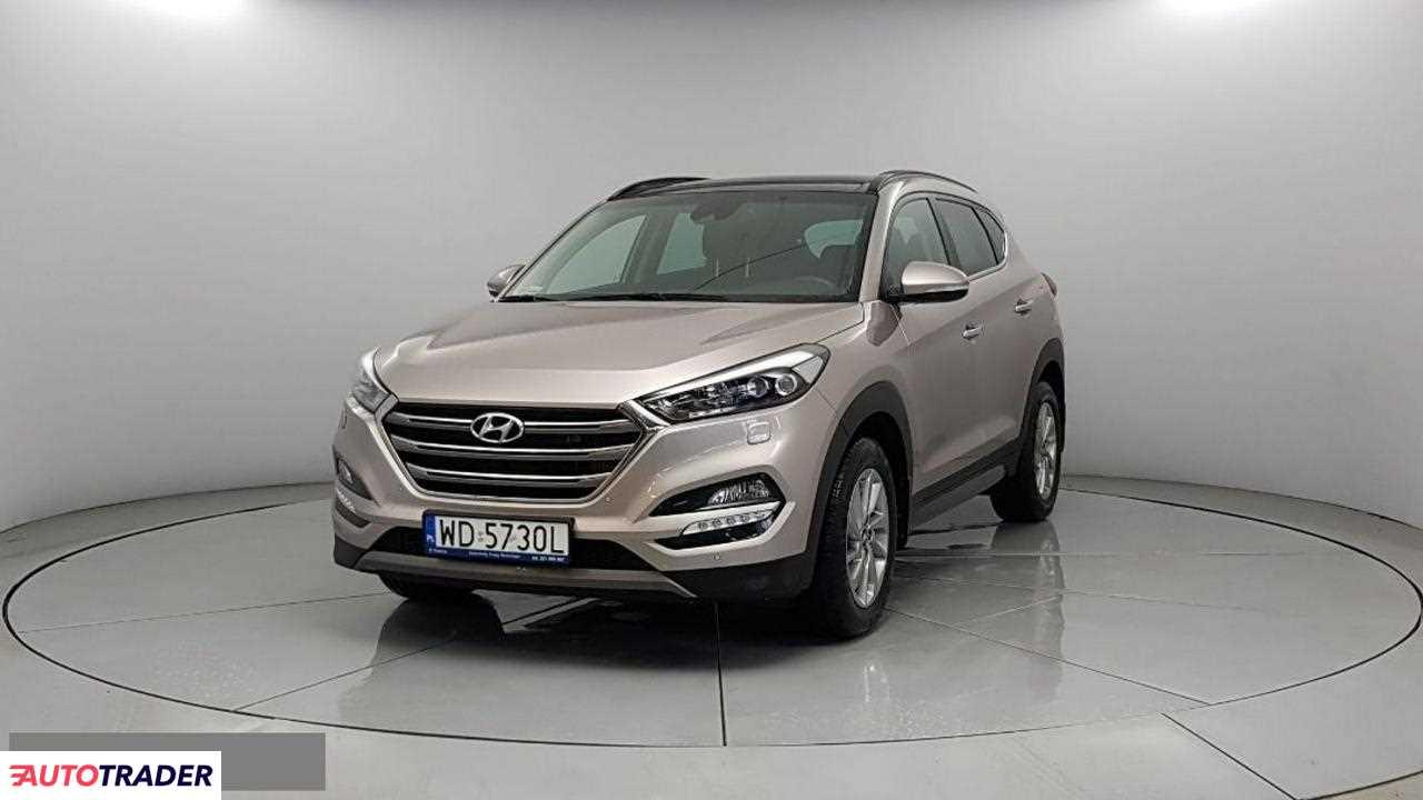 Hyundai Tucson 2016 2 185 KM