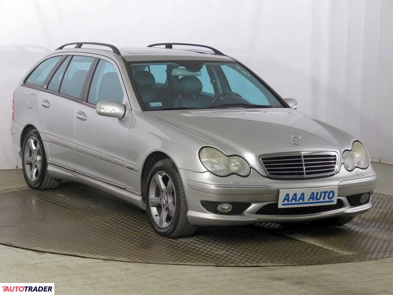 Mercedes C-klasa 2001 2.0 160 KM