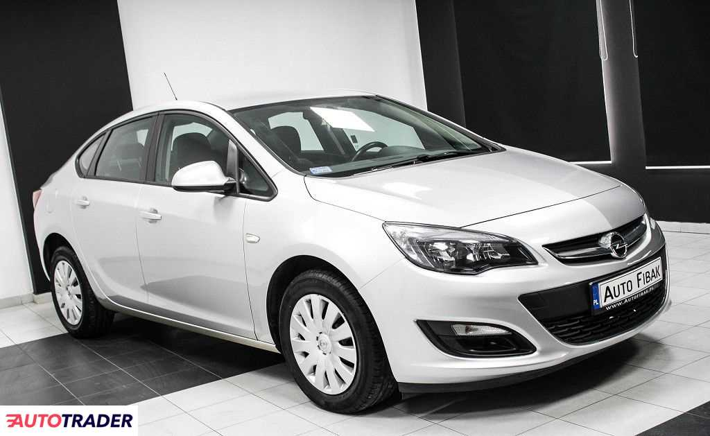 Opel Astra 2016 1.4 140 KM