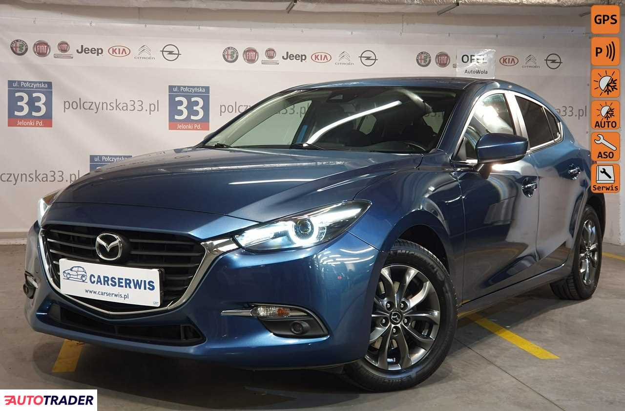 Mazda 3 2017 2.0 120 KM