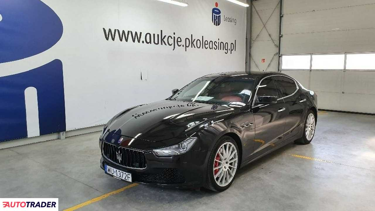 Maserati Ghibli 2014 3.0 410 KM