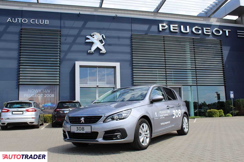 Peugeot 308 2020 1.2 110 KM