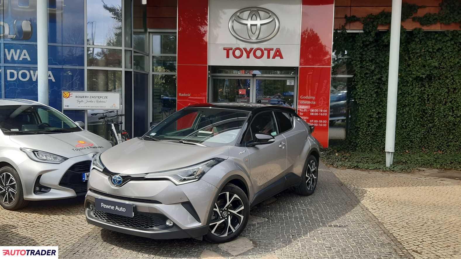 Toyota C-HR 2019 1.8 122 KM