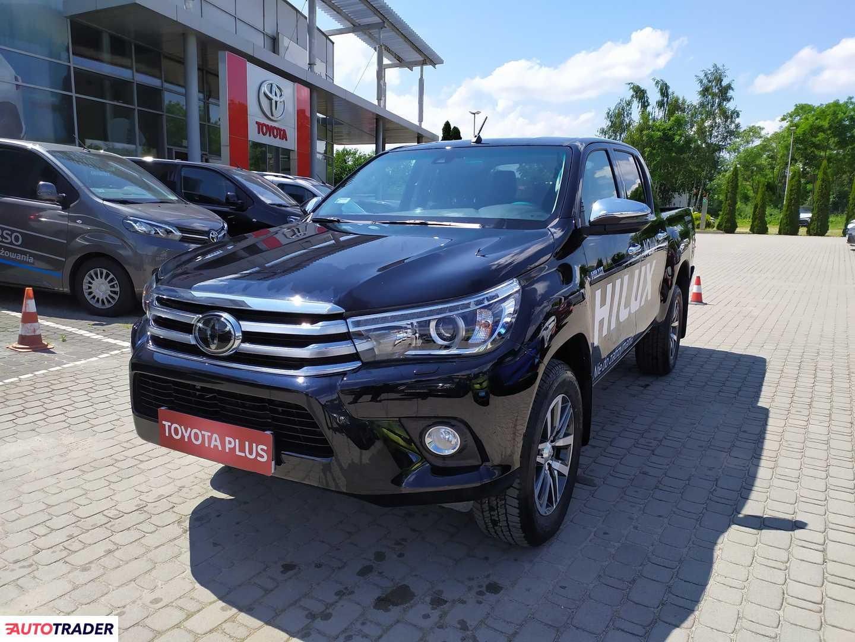 Toyota Hilux 2019 2.4 150 KM