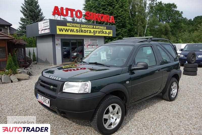 Land Rover Freelander 2002 1.8 117 KM