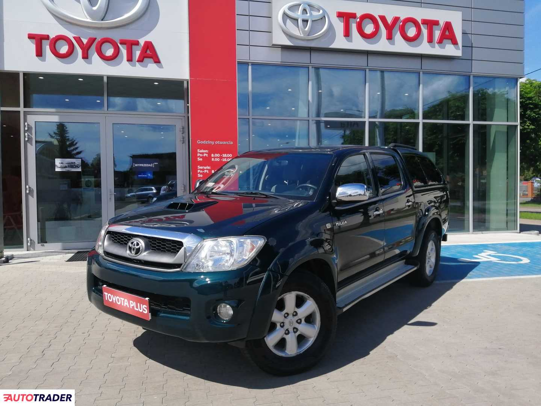 Toyota Hilux 2009 3.0 171 KM