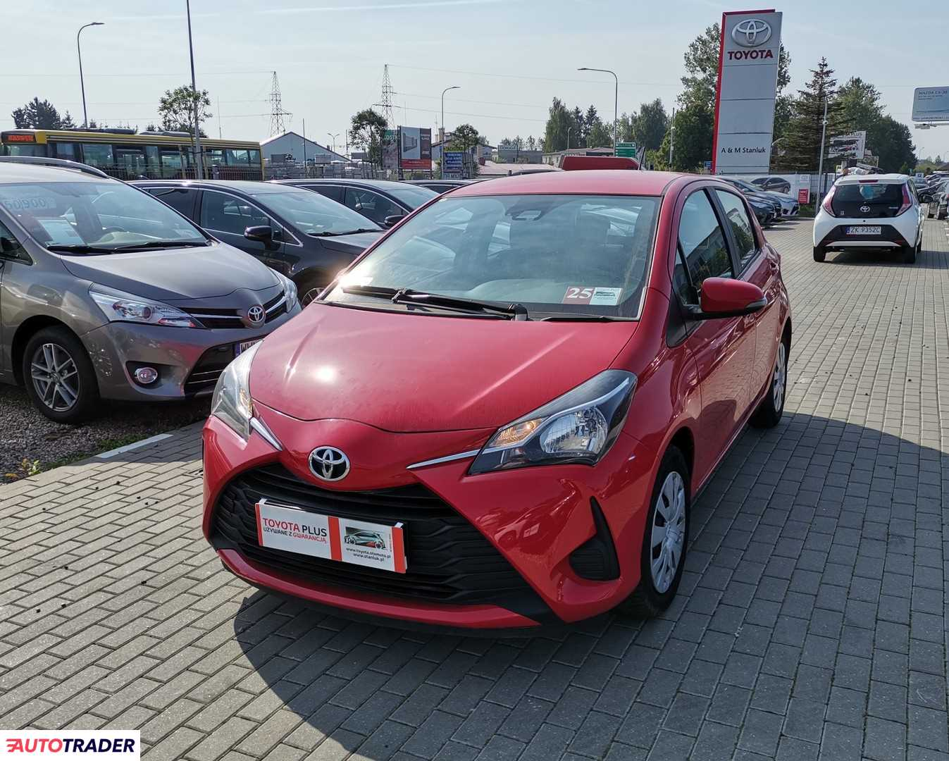 Toyota Yaris 2018 1.0 69 KM