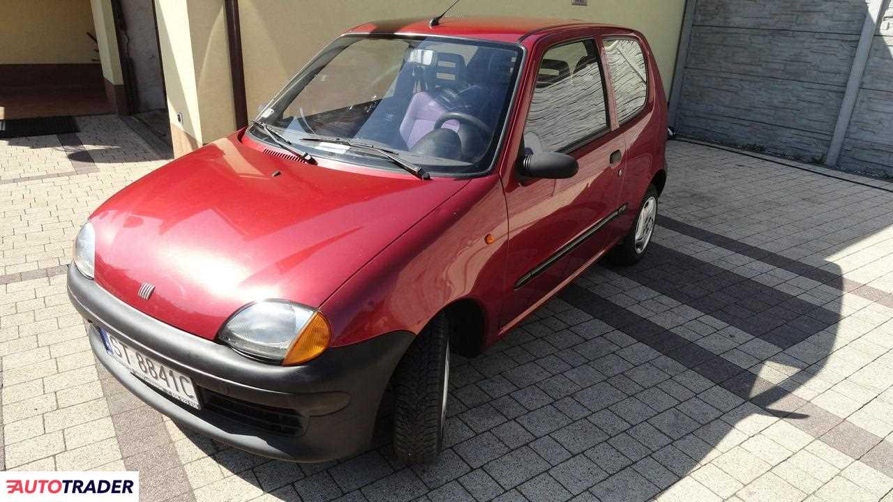 Fiat Seicento 2000 0.9 54 KM