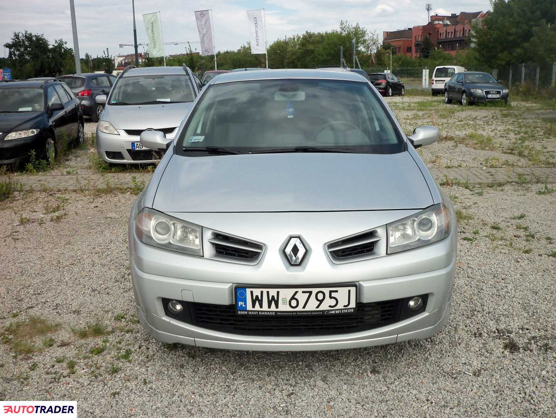 Renault Megane 2008 2.0 150 KM