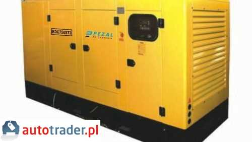 Agregat KDC750ST3 838,0 kVA/670,0 kW