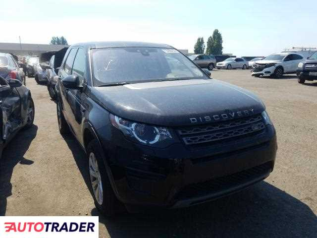 Land Rover Discovery 2018 2