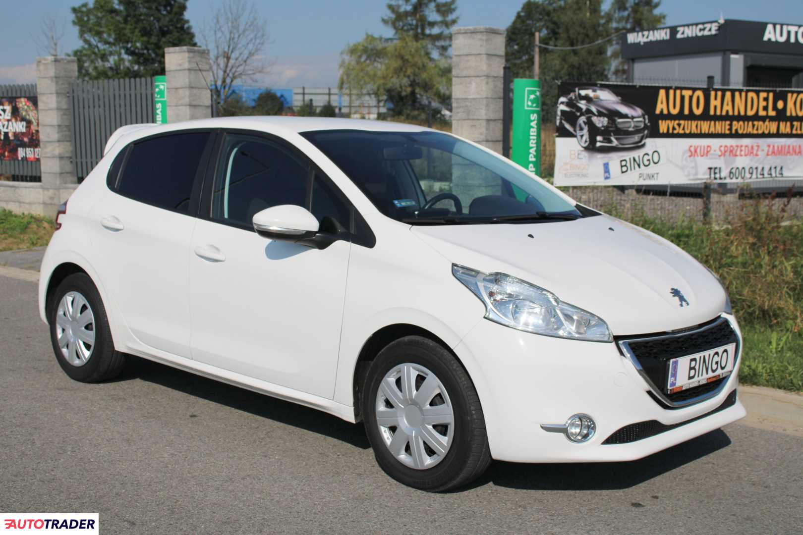 Peugeot 208 2013 1.2 82 KM