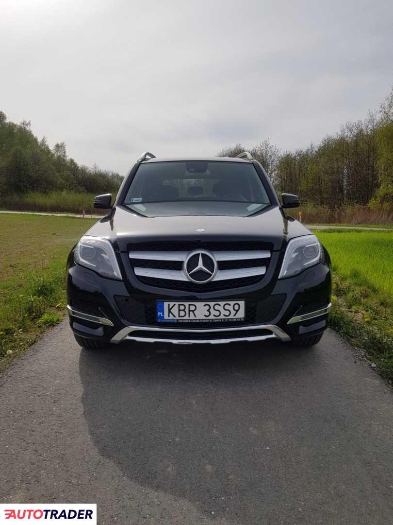 Mercedes GLK 2015 2.1 170 KM