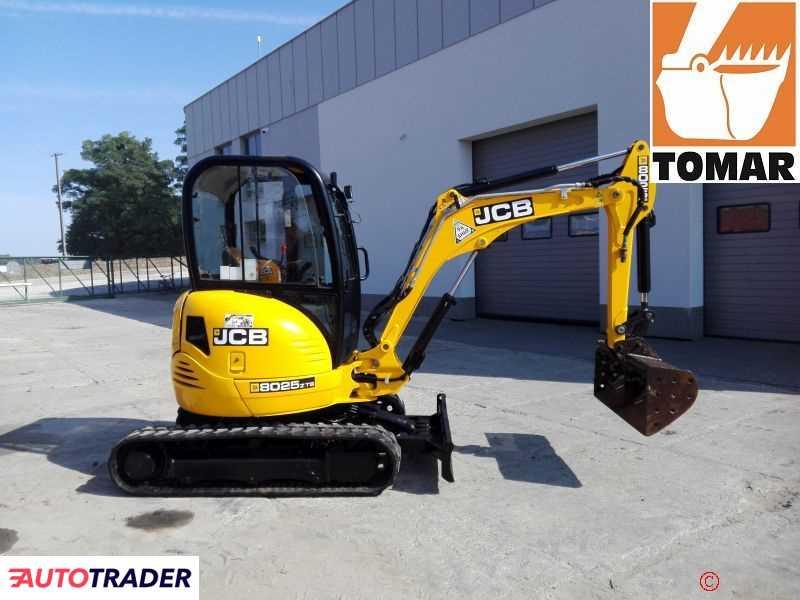 JCB 8025 ZTS 2013r.