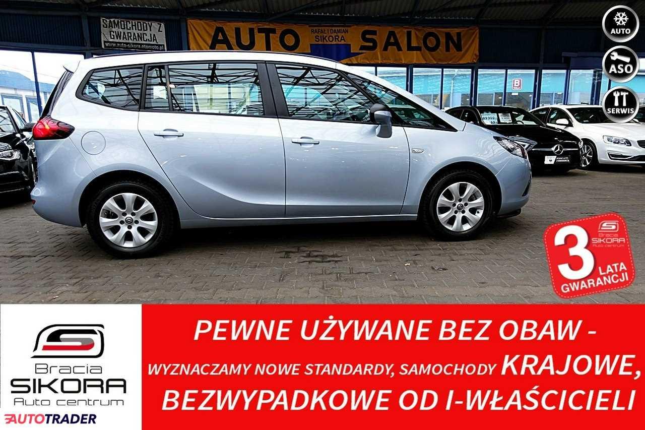Opel Zafira 2016 1.4 140 KM