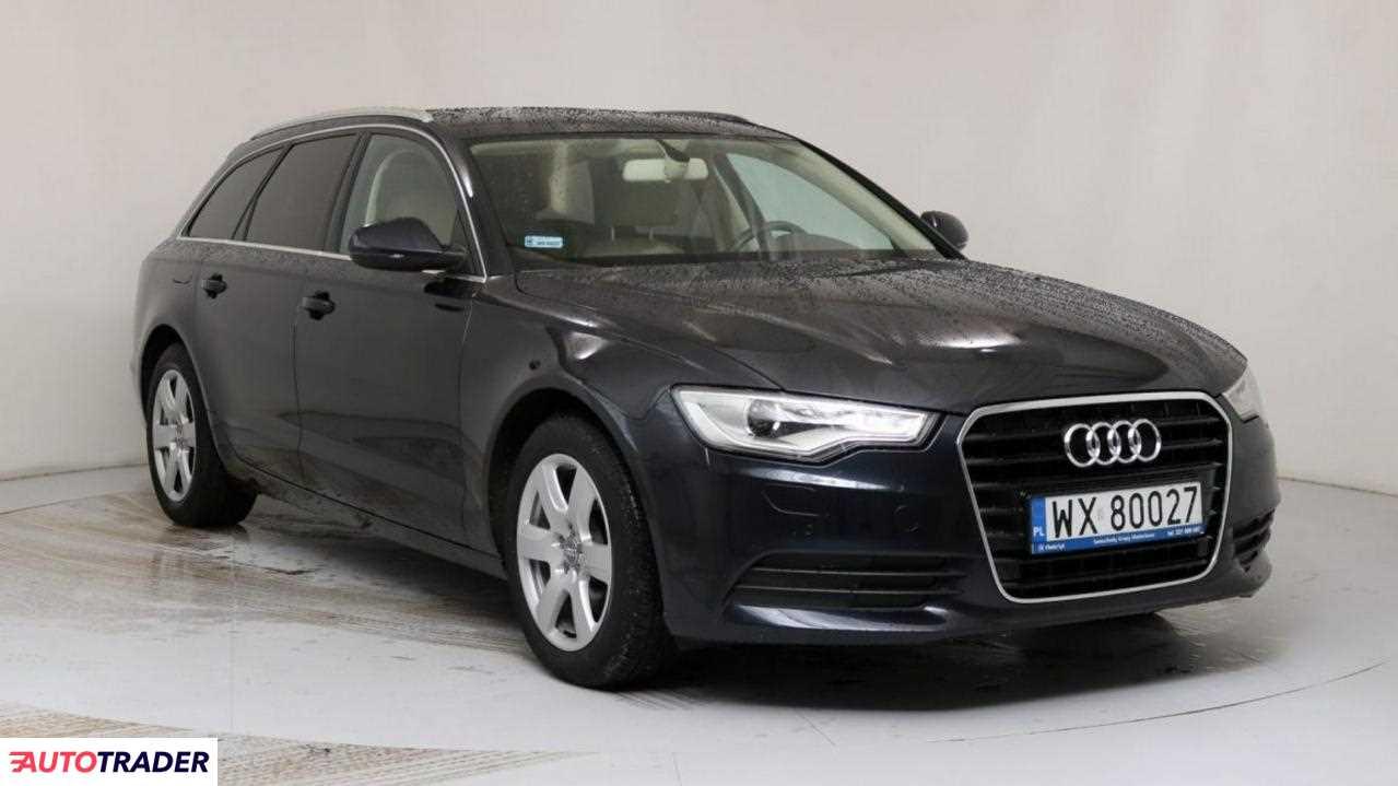 Audi A6 2014 2 190 KM