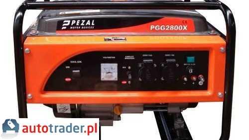 Agreagty prądotwórcze Kipor Pezal PGG2800X