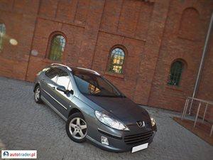 Peugeot 407 1.7 2005 r.,   17 900 PLN