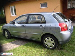 Toyota Corolla 1.4 2002 r. - zobacz ofertę