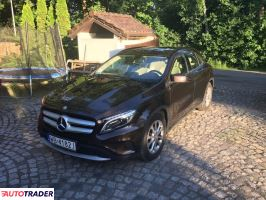 Mercedes GLA 2014 1.6 160 KM