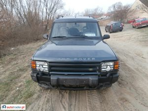 Land Rover Discovery 1996 2.5 111 KM