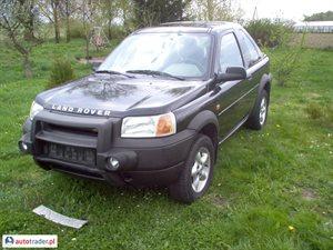 Land Rover Freelander 1.8 1999 r. - zobacz ofertę