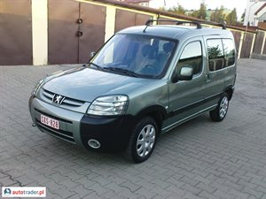 Peugeot Partner 2.0 2005 r. - zobacz ofertę
