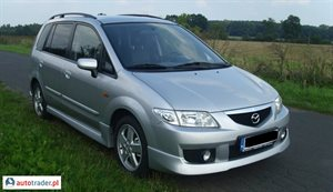 Mazda Premacy 2.0 2004 r. - zobacz ofertę
