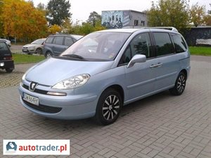 Peugeot 807 2.2 2003 r. - zobacz ofertę