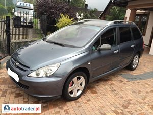 Peugeot 307 2.0 2005 r.,   10 990 PLN
