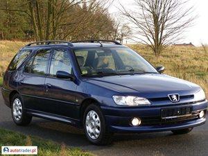 Peugeot 306 2.0 2000 r. - zobacz ofertę