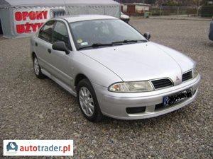 Mitsubishi Carisma 1.9 2001 r. - zobacz ofertę
