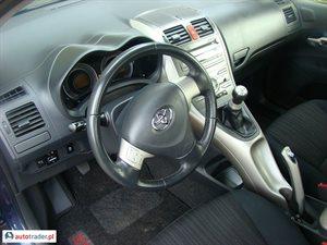 Toyota Auris 2007 1.4 97 KM