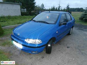 Fiat Siena 1.6 1999 r. - zobacz ofertę