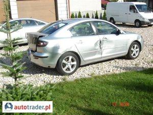 Mazda 3 1.6 2006 r.,   10 000 PLN