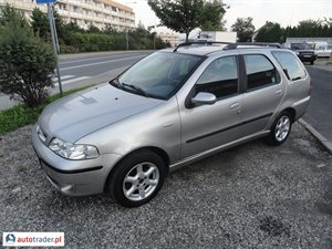 Fiat Palio 1.2 2002 r. - zobacz ofertę