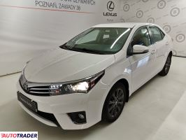 Toyota Corolla 2015 1.6 132 KM