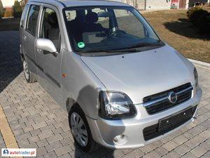 Opel Agila 1.2 2004 r. - zobacz ofertę