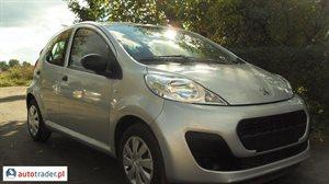 Peugeot 107 1.0 2012 r. - zobacz ofertę