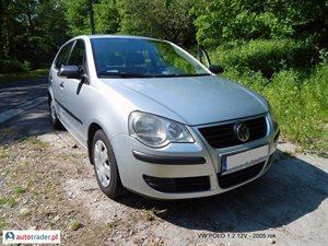 Volkswagen Polo 1.2 2005 r.,   15 500 PLN