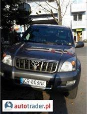 Toyota Land Cruiser 3.0 2009 r. - zobacz ofertę