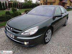 Peugeot 607 2.2 2005 r.,   25 000 PLN